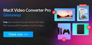 MacX Video Converter Pro 6.0.4 Crack + License Code Free(100% Working)