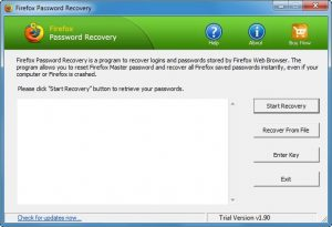 Firefox Password Recovery Master Crack With Product Keys Full Version Free Download