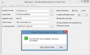 DoneEx VbaCompiler for Excel 1.4.5.0 Crack With Activation Code Full Version Free Download