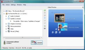 VSO ConvertXtoDVD 7.0.0.73 Crack a portable program designed to convert videos of liquid compositions to DVD-Video and thus burn content